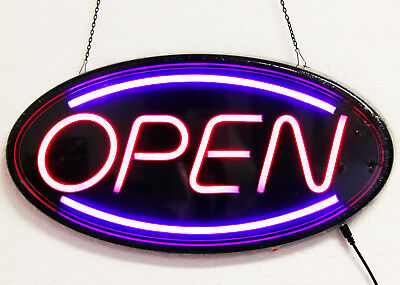 Neon Led Light Animated Motion With Onoff Open Business Sign Super Bright Ln201