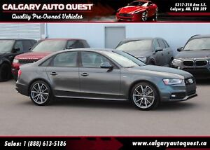 2015 Audi S4 3.0T Technik plus AWD/NAVI/B.CAM/LEATHER/ROOF