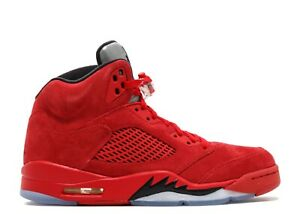 "abb1283bdf6e40 Air Jordan Retro 5s ""Red Suede"" Size 12 DS OG EVERYTHING"