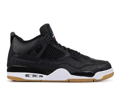 Air Jordan Retro 4 IV Retro SE Black Gum CI1184-001 Laser