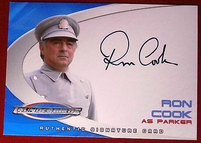 Thunderbirds - RON COOK (Parker) - Autograph Card AC4 - Cards Inc 2004