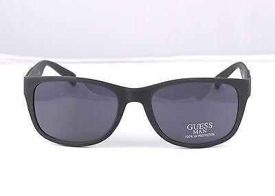 New Guess Men's Sunglasses GU 6673 Retail $80+ Matte Black Now (Guess Wayfarer Sunglasses)