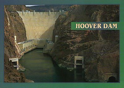 Hoover Dam Arizona & Nevada, Colorado River, Hydro Power Plant, AZ NV - Postcard