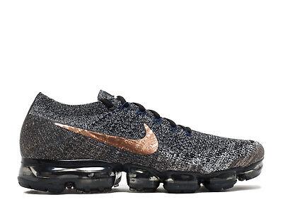 Nike Air Vapormax Flyknit Black Bronze Size 14. 849558-010 2017 air 95 97