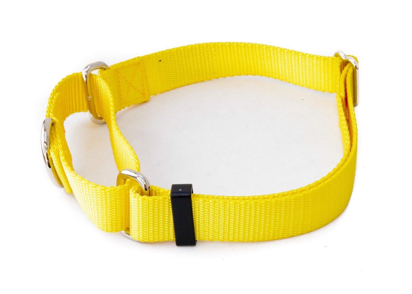 "1 Inch Width Martingale No Slip Dog Collars - Heavy Duty 1"""