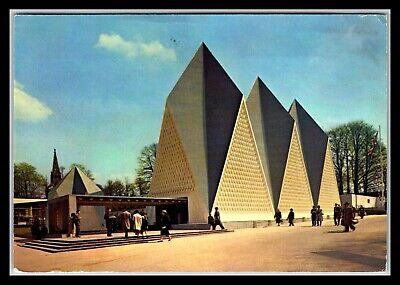 GP GOLDPATH: BELGIUM POST CARD 1958 AIR MAIL _CV674_P13