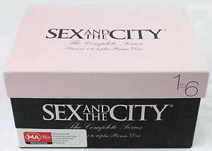 DVD Boxed Set - Sex and the City: The Complete Series 1-6 Morley Bayswater Area Preview