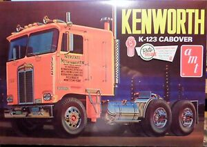 amt Kenworth K-123 Cabover, 1/25, New (2017), Factory Sealed Box