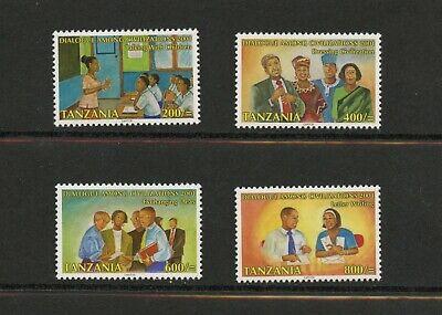 F235  Tanzania  2001   Year of Dialogue   4v.   MNH