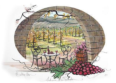 Autumn Splendor - P. Buckley Moss Limited Edition Print - Vineyard