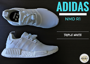 Adidas NMD R1 (TRIPLE WHITE) Carlton Melbourne City Preview