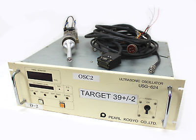 Pearl 40Khz Ultrasonic Welder USG-624, HerFurth UST-640 Transducer 600W, used for sale  Shipping to Canada