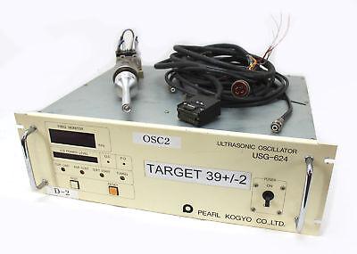 Pearl 40khz Ultrasonic Welder Usg-624 Herfurth Ust-640 Transducer 600w
