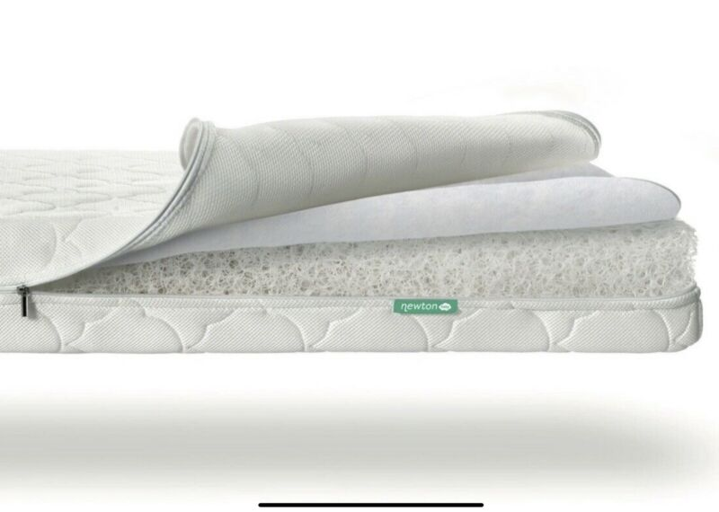Newton Baby Crib Mattress Spare Cover - Machine Washable, 100% Breathable White
