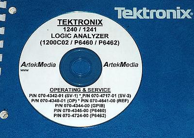 Tek 1240 1241 P6460 P6462 Ops-service Manuals 8 Volumes
