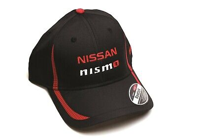 Brand New OEM NISSAN NISMO Double Stack Cap Black and Red Reebok -