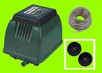 Hailea Aco 9720 Compressor, Plus 2 Spare Membrane And 20 M. Air Hose Fan - hailea - ebay.co.uk