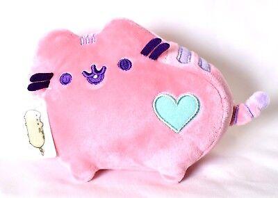 "GUND Pusheen Pastel Pink Heart Plush 6"" Cat Stuffed Toy Animal 4048873 >NEW<"