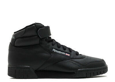 Reebok EX-O-FIT HI Women Mens Sneaker 3478 Black Schwarz Gr:36 Classic Princess