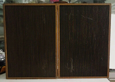 Casse/diffusori acustici in legno vintage anni 60-70