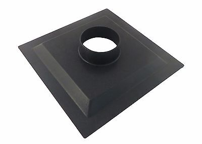 Dust Collector Dust Hood Flange Abs 12 X 12 X 2.5 With 4 Od Opening 73467