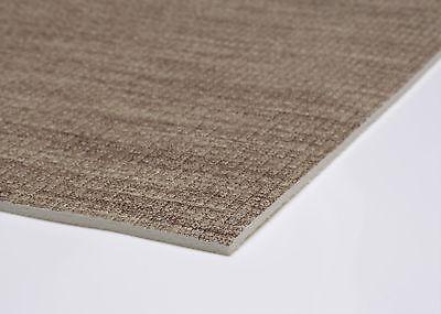 Küchenläufer Terramat Antirutsch Matte für Boden Leinenoptik braun Größe wählbar ()