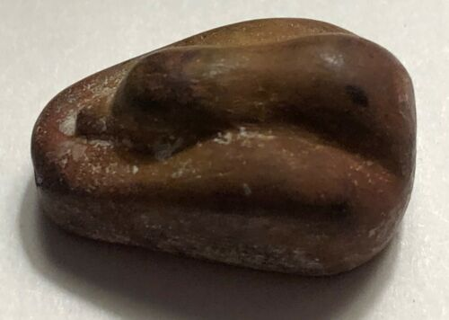 Ancient Babylon, Genuine Red Stone Duck Weight, Second Millennium BC