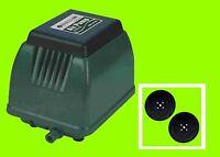 Hailea Aco 9720 Compressor, Plus 2 Spare Membrane Air Pump Aquarium And Pond - hailea - ebay.co.uk
