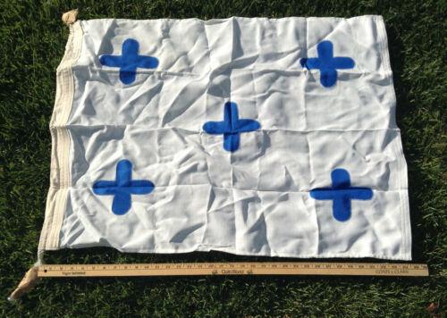 "Vintage USCG or USN Regulation 26"" x 36"" Signal Pennant Flag - ZERO"