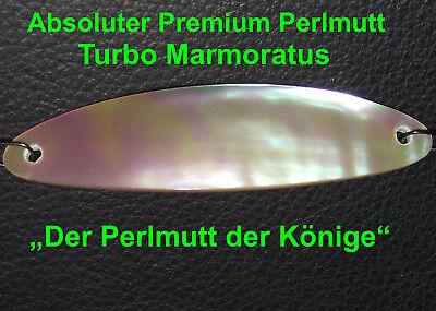 Premium Perlmuttblinker Echter Mother of Pearl Premium Perlmutt 125-130 mm !!
