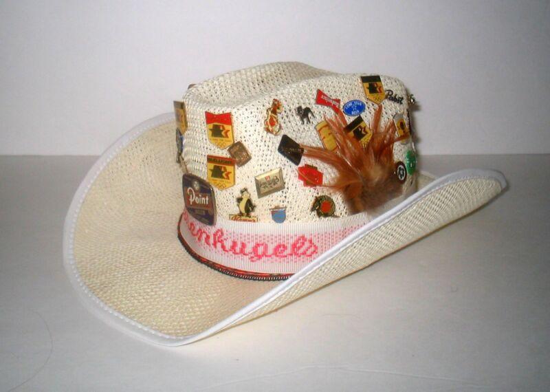 ***** OOAK BEER PIN HAT *****