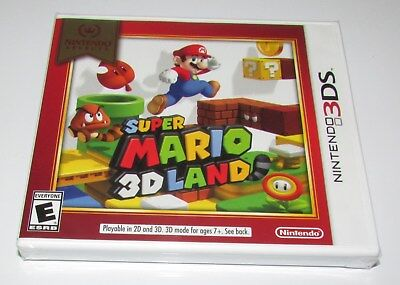 Super Mario 3D Land For Nintendo 3Ds Brand New  Factory Sealed