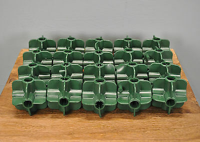 Bamboo Cane Connectors Flexi Balls x 20 for Fruit Cage Netting Plant Support