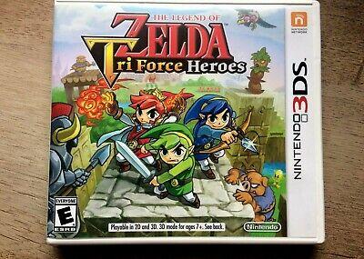 Nintendo 3DS - Legend of Zelda  Triforce Heroes - Tested and Works