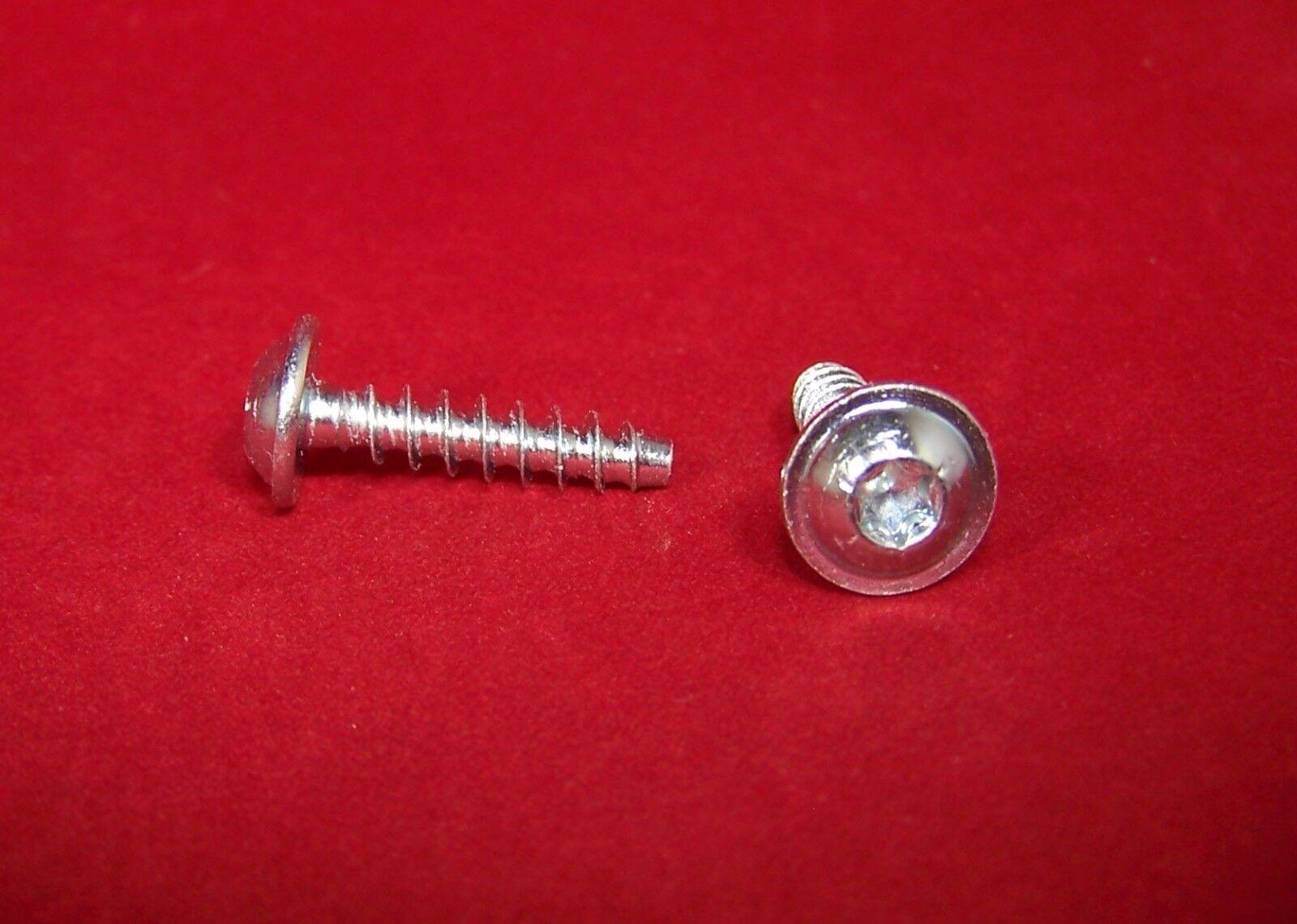 PT Schrauben für Kunststoffe Linsenkopf mit Flansch Edelstahl A2 Ø4,0mm