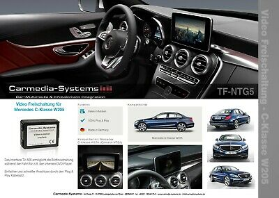 Video TV DVD Freischaltung Mercedes NTG5 NTG5.1 NTG5.5 NTG5.5SE GLE C292