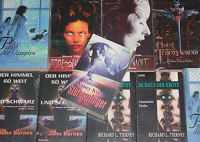 Auswahl: Roman-Abenteuer-Science Fiction-Krimi-Cyberpunk-Mittelalter-Vampire-neu