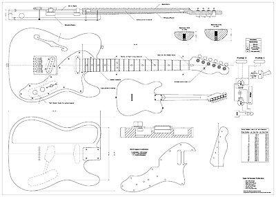 Telecaster Style Guitar - Buyitmarketplace.co.uk on