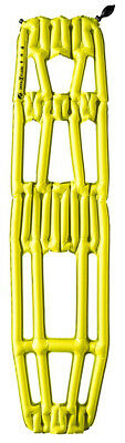 Klymit Inertia X Frame Ultralight Sleeping Pad, Yellow/Gray