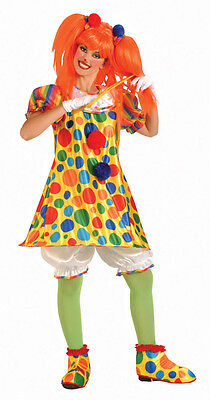 Giggles The Clown  - Womens Clown Costume](Giggles The Clown Costume)