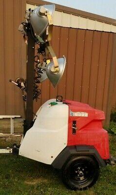 2016 Generac Magnum Mlt6sm Mlt6sk-01 Diesel Light Tower Generator Kubota 6kw