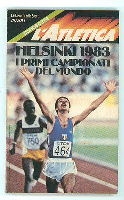 HELSINKI 1983 I PRIMI CAMPIONATI DEL MONDO RIZZOLI GAZZETTA SPORT ATLETICA