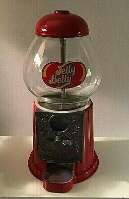 Jelly Belly Jelly Bean Dispenser Gumball Glass Metal Coin Bank Die-cast (Jelly Bean Dispenser)