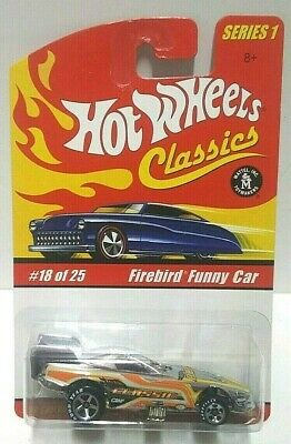 2004 Hot Wheels Classics Series 1 Firebird Funny Car Silver
