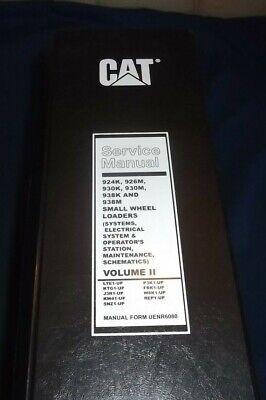 Cat Caterpillar 924k 926m 930k 930m 938m Wheel Loader Service Shop Repair Manual