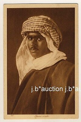 NORTH AFRICA YOUNG ARAB MAN JUNGER ARABER 1910S PC LEHNERT LANDROCK 15
