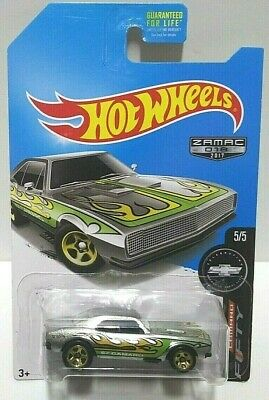 2017 Hot Wheels Camaro Fifty Zamac '67 Camaro