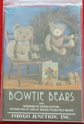 Bowtie Bears Pattern By Indygo Junction
