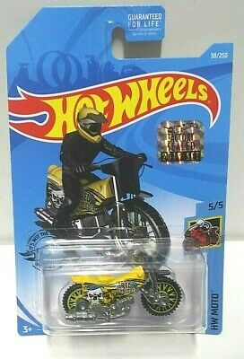 2019 Hot Wheels Moto Tred Shredder Yellow 38 RLC Set VHTF