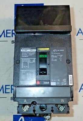Square D Hja26015 Hja260151 Powerpact 15 Amp 65ka480v I Line Breaker- Tested